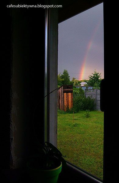 View of the rainbow.