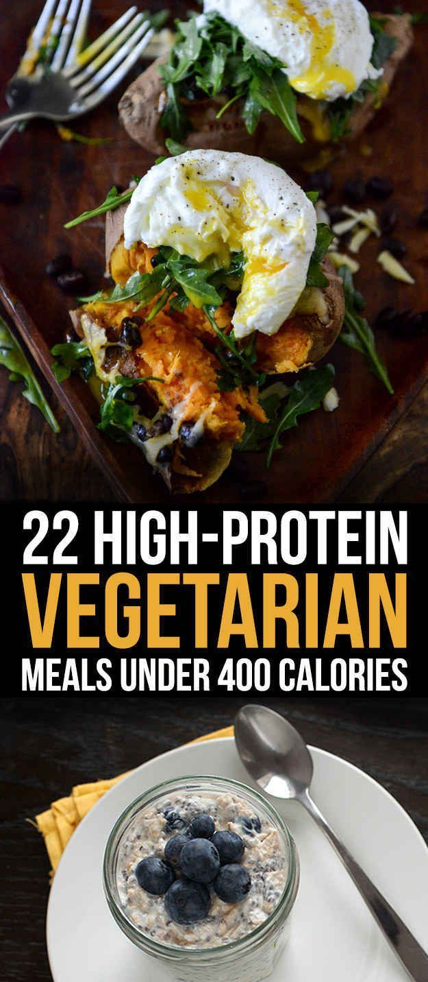 22 High-Protein Meatless Meals Under 400 Calories http://www.buzzfeed.com/annaborges/so-much-protein?crlt.pid=camp.sUbNZYDpPcyw