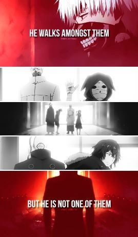 Words will only ever be just words. Kaneki Ken - Tokyo Ghoul