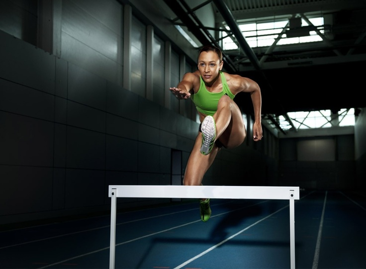 Jessica Ennis - she makes me proud to be british!