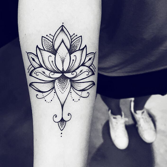 The 25 best unalome meaning ideas on pinterest - Tatouage lotus signification ...
