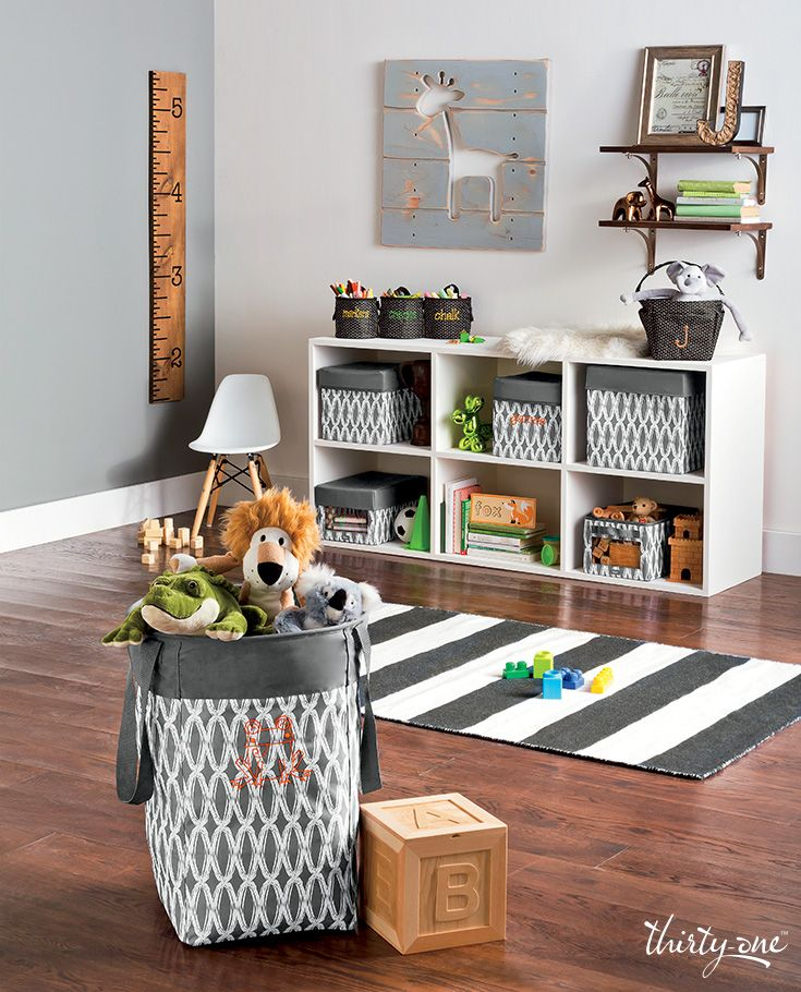 Organize Your Playroom Or Living Space With Thirty One