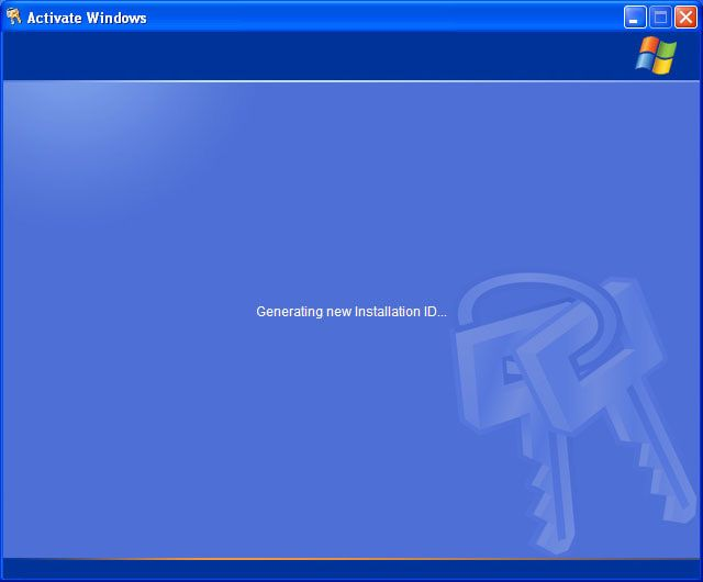 An Easy Guide to Updating Your Product Key in Windows XP: Wait While the New Installation ID is Generated