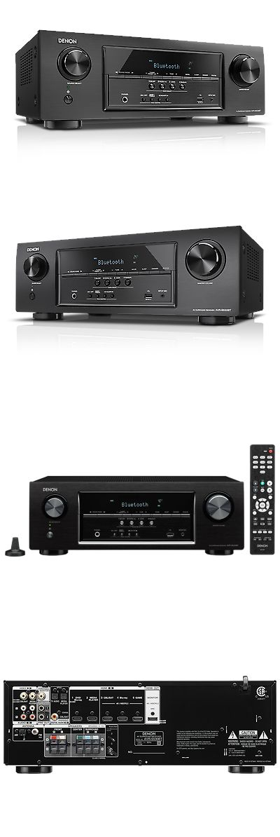 Home Theater Receivers: Denon Avrs530bt 5.2 Channel Full 4K Ultra Hd Av Receiver With Bluetooth -> BUY IT NOW ONLY: $279 on eBay!
