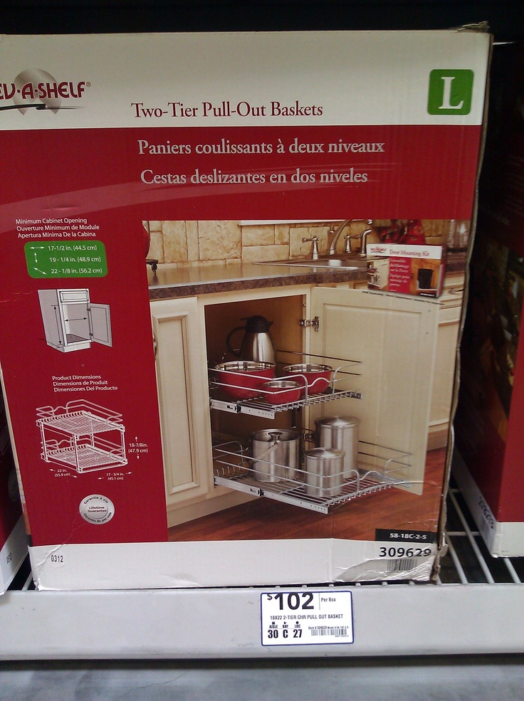 Lowes - Cabinet Drawers