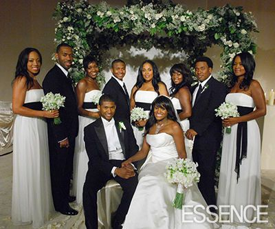 African American Wedding Hair Bridesmaid | In addition to the bridesmaids scandal, Tameka also accused Usher of ...