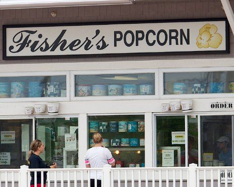 Fisher's Popcorn - 5 Must Try Foods in Ocean City, MD