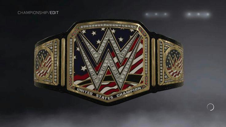 WWE United States Championship I made