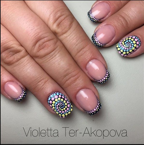 nail art dotting