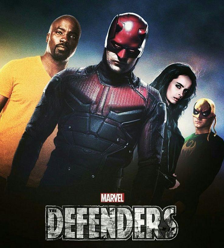 Beautiful fan art of the Defenders by Camw1n on Insta #netflix #Defenders…