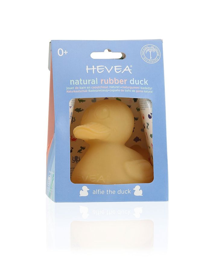 Hevea Natural Rubber Duck | Alfie the Duck