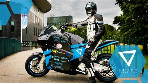 The Eindhoven University of Technology student research team behind the electric STORM Pulse motorcycle will be sending it on a cross country trip from Europe to China later this month, according t…