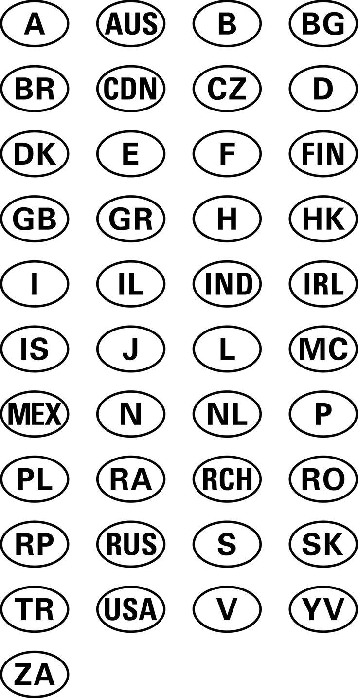international vehicle car sign symbol download