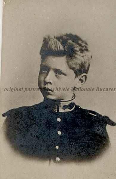 BU-F-01073-1-00307 Principele Carol de Hohenzollern (Carol al II lea), copil, 1902-1903 (niv.Document)