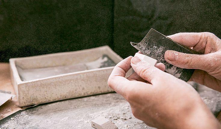 FRIJA HVID - Handcrafted Ceramic Jewellery - Studio Workspace