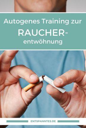 Rauchentwöhnung, Nichtraucher werden, Autogenes Training