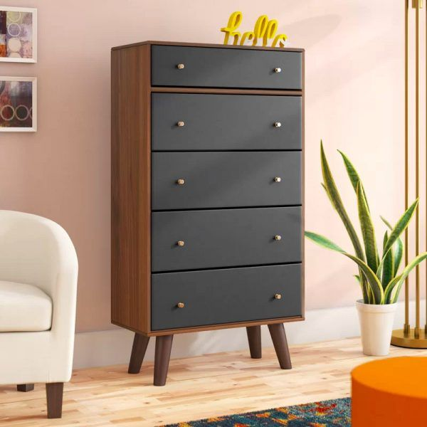 41 Mid Century Modern Dressers To Add Storage And Style To Your Bedroom Modern Chest Of Drawers Shabby Chic Dresser Modern Dresser
