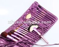 Hot 22 pcs Profesional Studio Maquillaje juego de brochas PURPLE / Envío Gratis