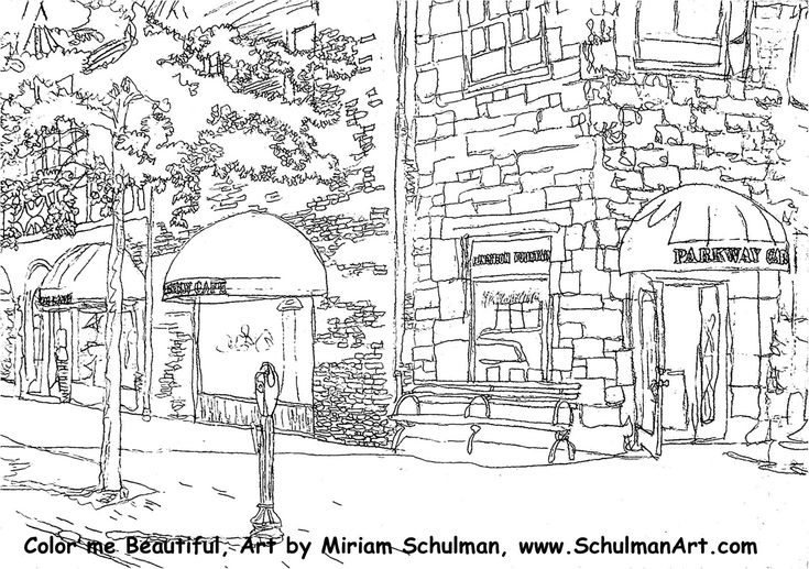 swiss scenes coloring pages - photo#27