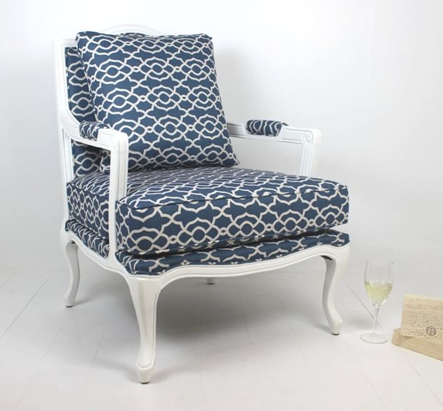 Chair Calypso Blue at Villa Maison