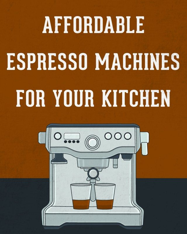 http://www.home2kitchen.com/category/Espresso-Machine/ Best Affordable Espresso Machines