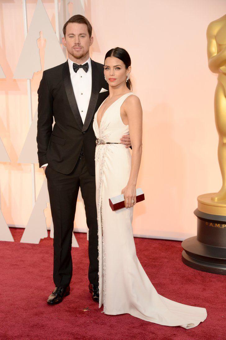 Pin for Later: Cette Année, les Oscars Etaient une Affaire de Couples Channing Tatum et Jenna Dewan Tatum