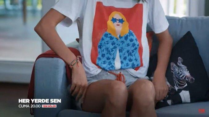 Her Yerde Sen 5 Bolum Kiyafetleri Heryerdesen Tshirt Giyim Moda Kombin Kiyafet Moda Giyim