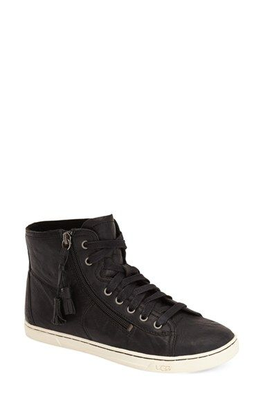 UGG® Australia 'Blaney' Tasseled High Top Sneaker (Women) available at #