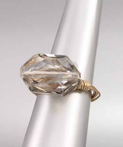 Black Diamond and Gold Ring (gray shade)  $14.00 with FAST, FREE SHIPPING