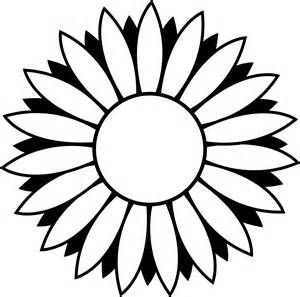 flower clipart black and white free - - Yahoo Image Search Results