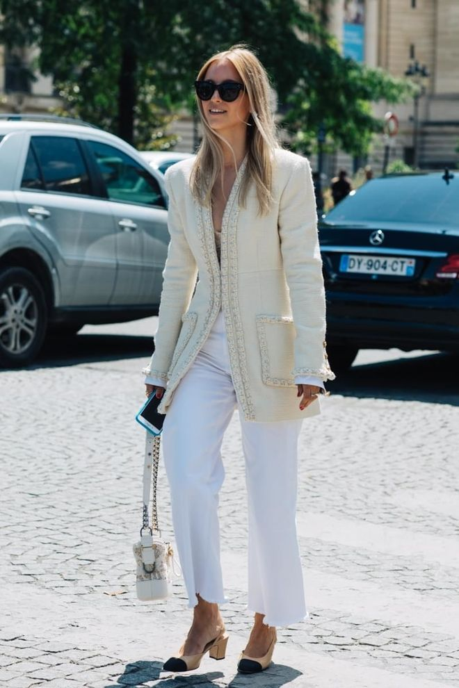 """I've noticed that the street style outfits seen at fashion weeks have looked more like """"real life"""". And the autumn/winter Paris Haute Couture Week was like this. I love it, because we can easily be inspired."""