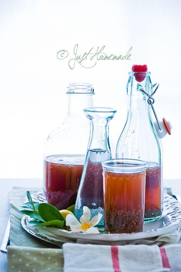 Raspberry Meyer Lemonade - Gorgeous drink