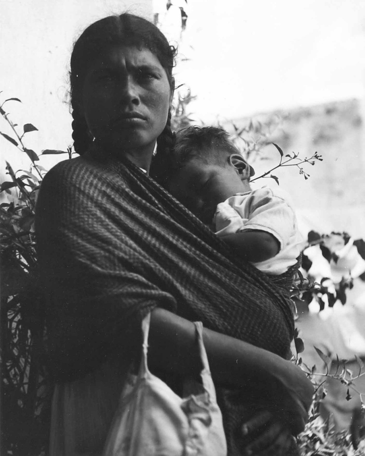 1937 Mexican woman with child - - visit us on line at www.mainlymexican... and…