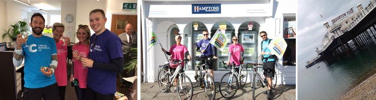 Chichester to Brighton as part of our Relay Around The Regions for Cancer Research UK