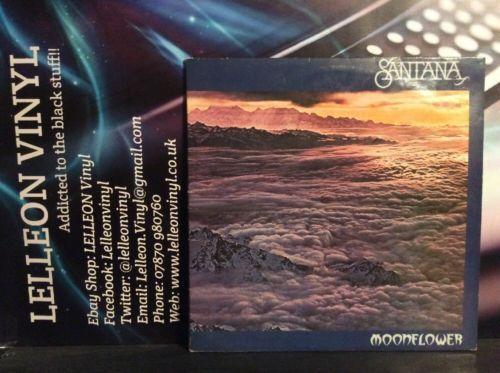 Santana Moonflower Double LP Album Vinyl CBS88272 Rock 1977 Black Magic Woman Music:Records:Albums/ LPs:Rock:Progressive