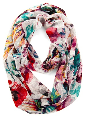 Floral scarf - love!