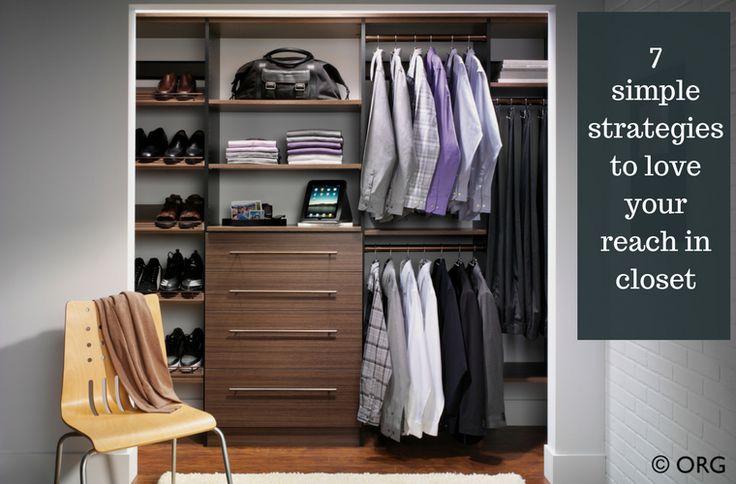 Small Bedroom Closet Ideas: 25+ Best Ideas About Reach In Closet On Pinterest
