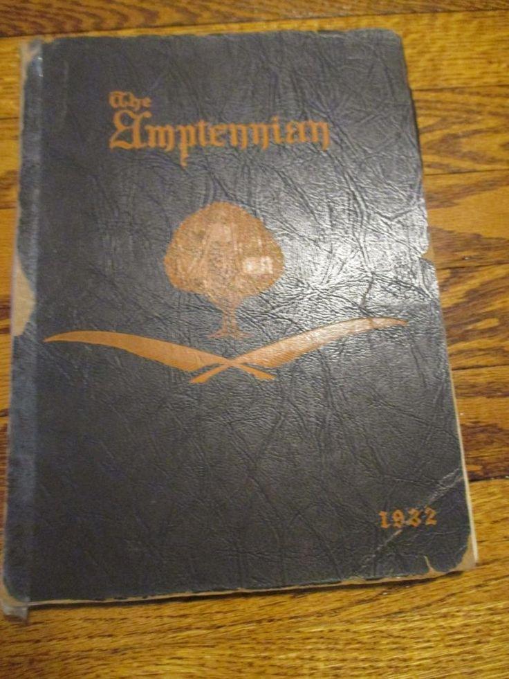 1932 The Amptennian Northampton High School Yearbook PA Pennsylvania Photos