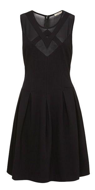Moon Shadow Dress - Black