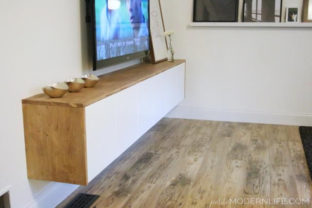 5 Modern Diy Tv Consoles For Hiding Ugly Cable Boxes And