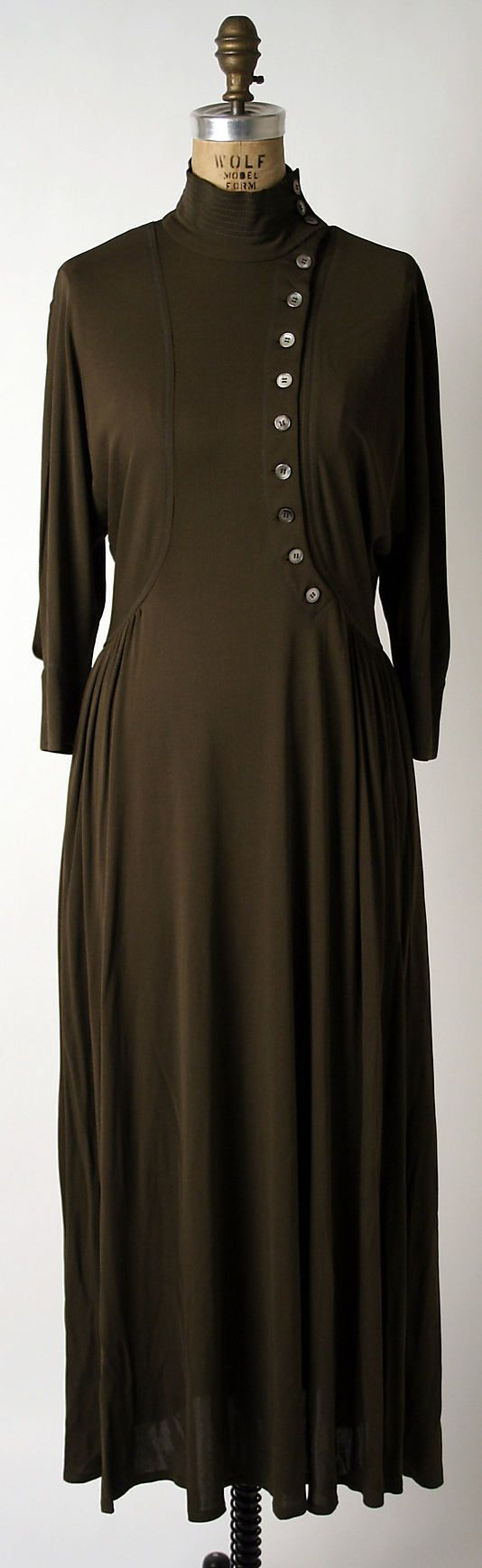 Dress, Dinner  Jean Muir  (British, 1928–1995), Date: 1973–75