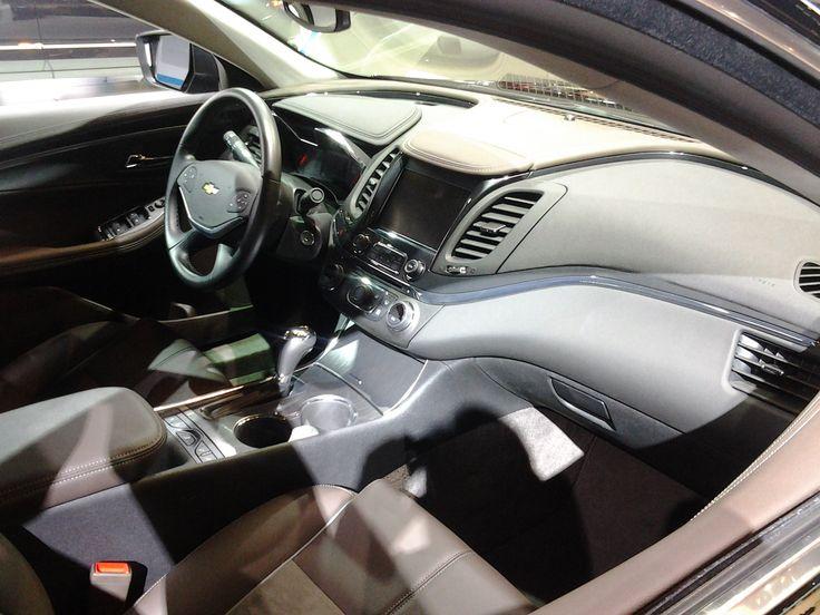 2014 Impala Interior at the 2013 Auto Show