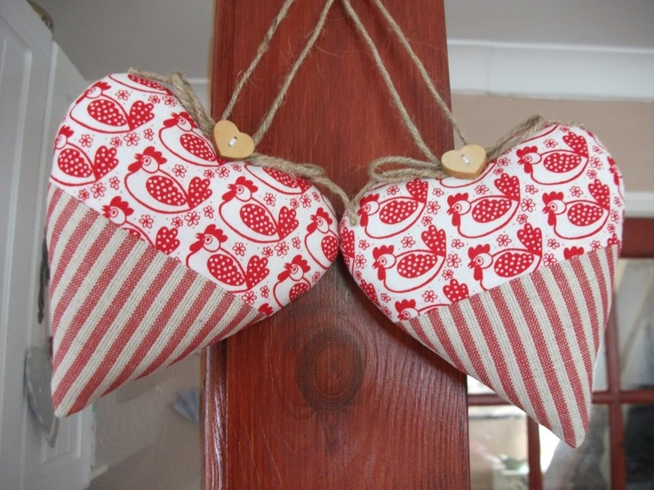 Decorative Hanging Hearts