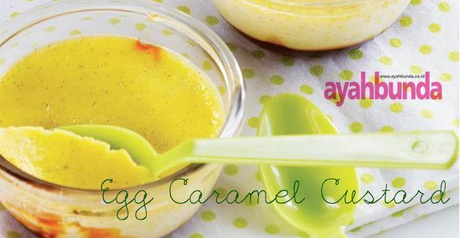 Egg Caramel Custard :: Klik website di atas agar tahu bagaimana caranya membuat egg caramel custard