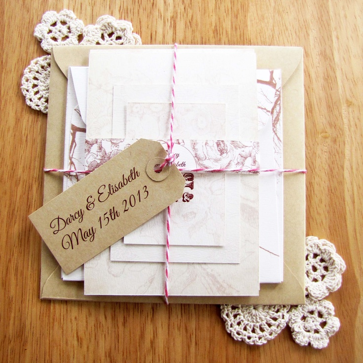 Sutherland Design's Floral Themed Vintage Wedding Package