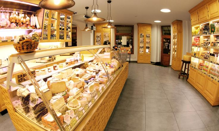 La Formaggeria Gran Moravia, a great cheese shop in Prague