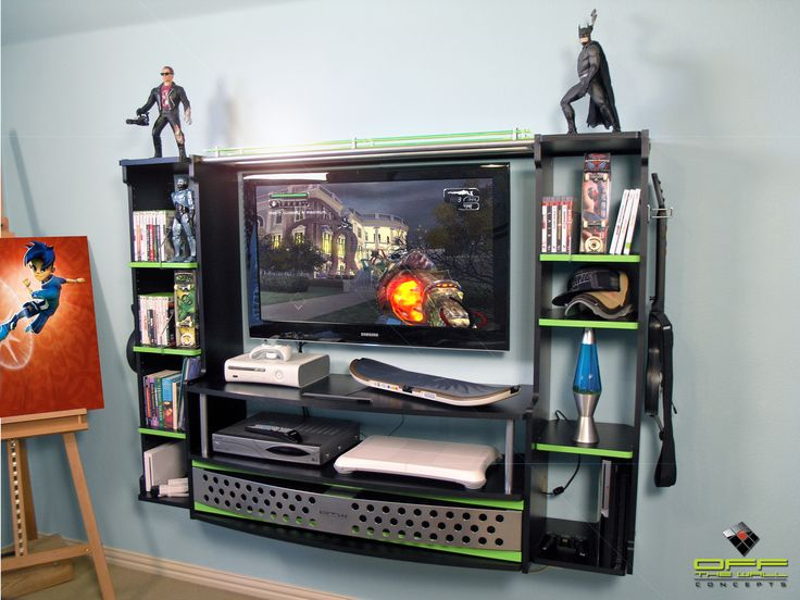 The Gaming Station is the ultimate solution for the serious gamer. It turns any room into a gaming haven while keeping everything neat and organized.