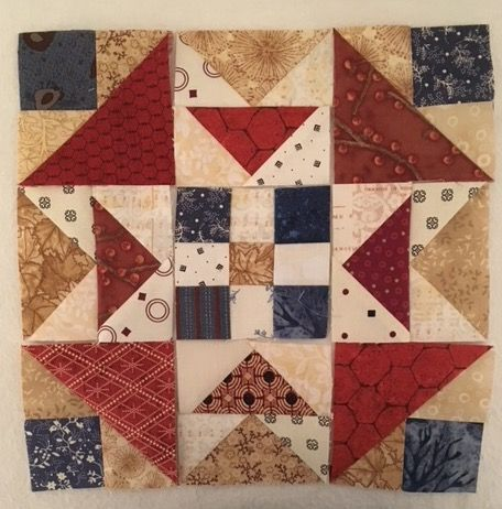 On Ringo Lake -- Bonnie Hunter Mystery Quilt 2017-18  by QuiltsRFun