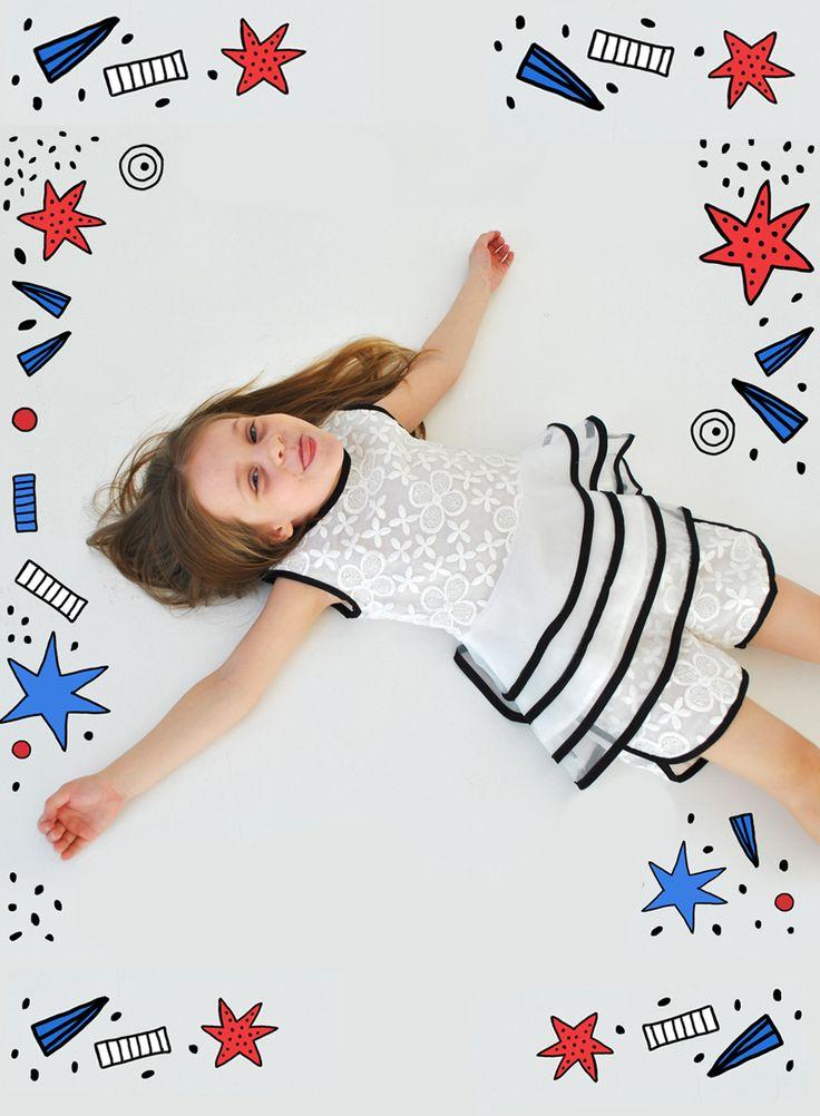 BINKI Летний Комплект с Воланами #binkiru #детскаяодежда #магазиндетскойодежды