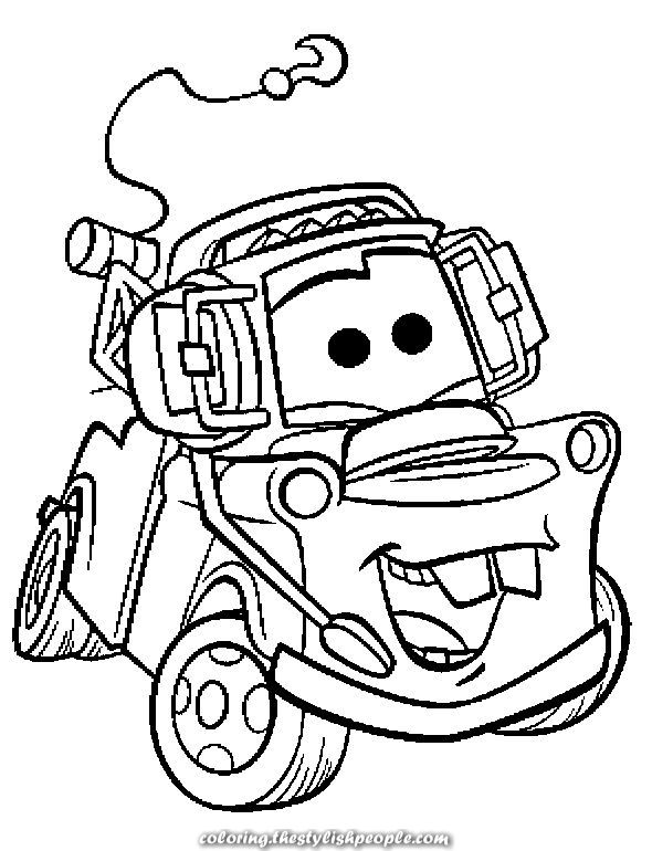 Amazing Vehicles Tow Mater Coloring Books To Print And Obtain Totally Free Coloring Books Disney Coloring Pages Cars Coloring Pages